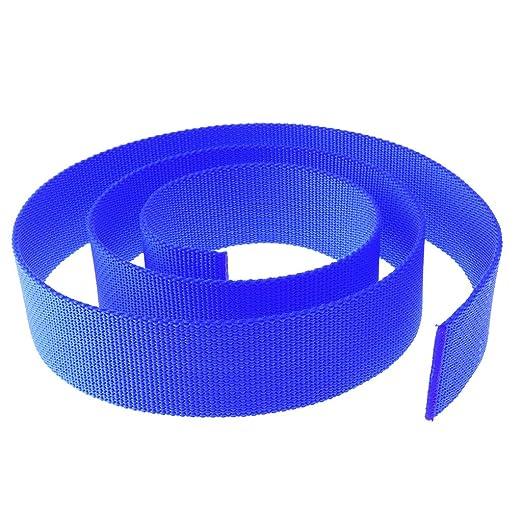 Gürtelschnalle Kunststoff in  helles taubenblau