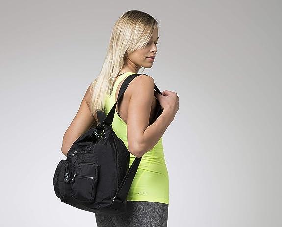 Bergs Flexy Unisex Multifunctional Kelly Shoulder Bag//Backpack//Crossbody bag