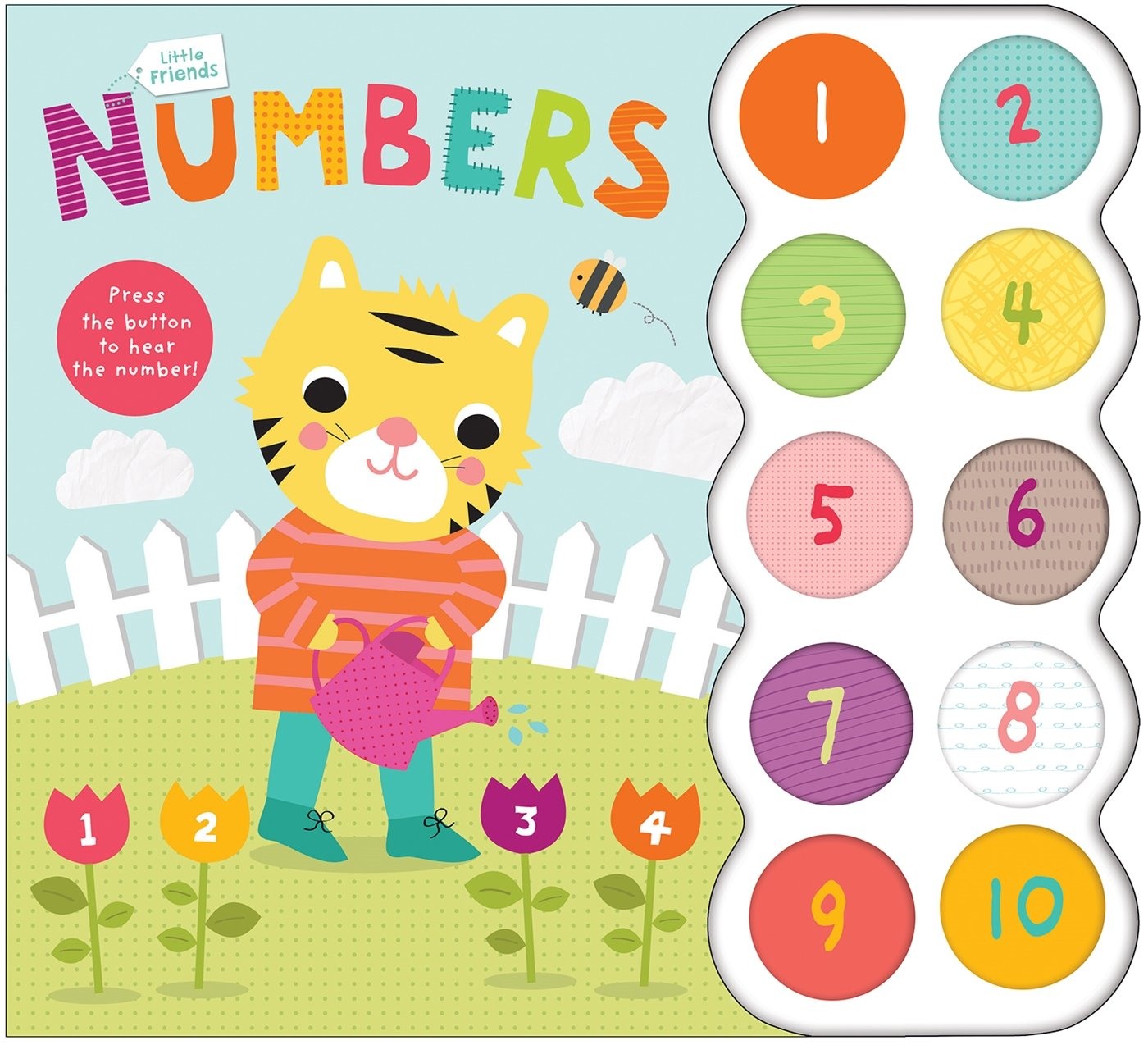 Little Friends Sound Book: Numbers PDF