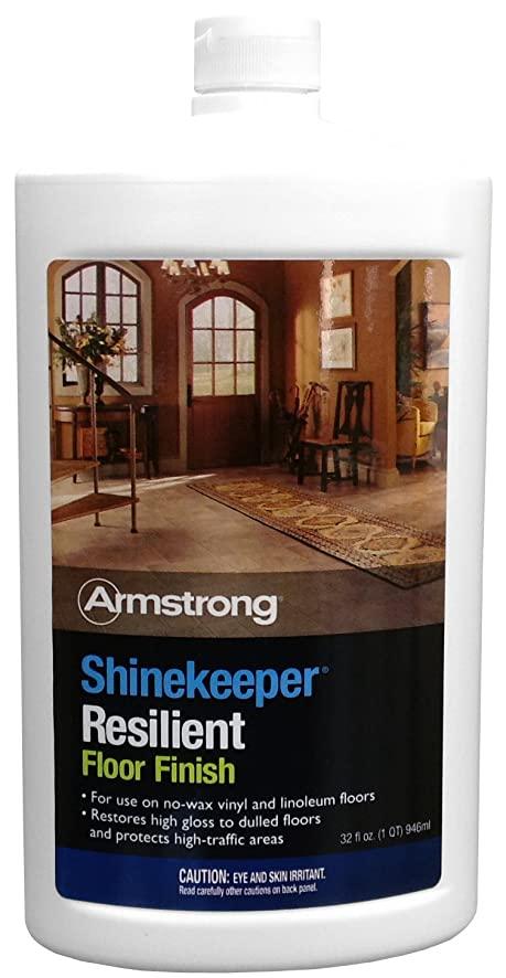 Amazon.com: Armstrong Shinekeeper Resilient Floor Finish 32oz: Home U0026  Kitchen