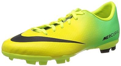 b0b25be5a07e Nike JR Mercurial Victory IV FG Kinder Fussballschuhe vibrant  yellow-black-neo lime -