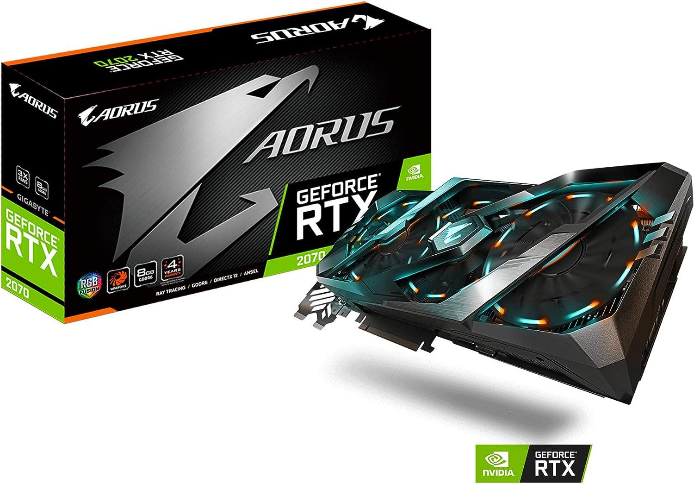 Amazon.com: GIGABYTE AORUS GeForce RTX 2070 Xtreme 8G GDDR6 ...