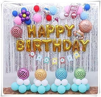 Paquete de globos para decoración de cumpleaños de bebé ...