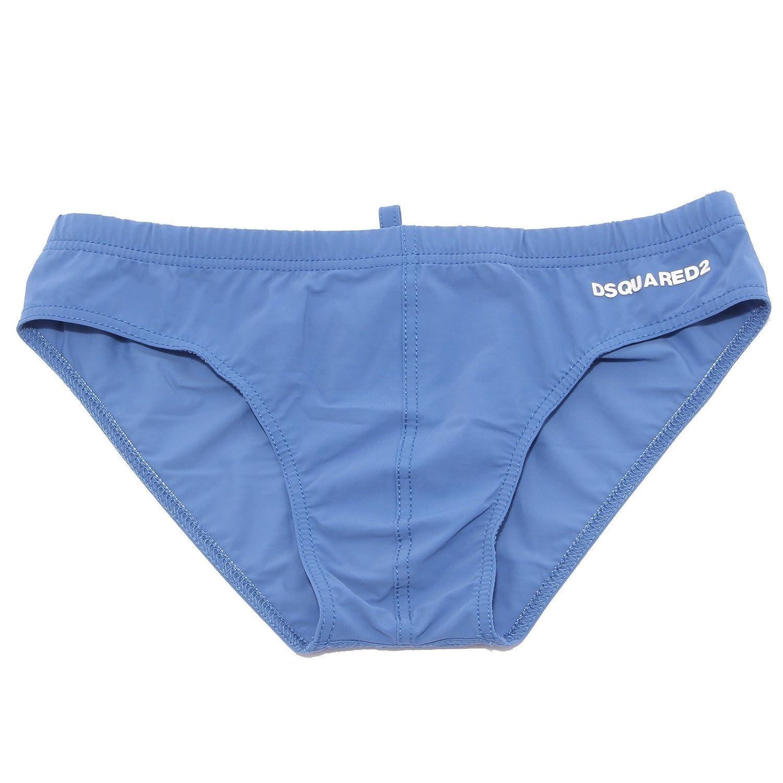 DSQUAROT2 1728R costume slip azzurro costume  Herren beachwear men