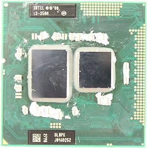 Intel 2.2 GHz Core i3 CPU Processor i3-350M SLBPK Dell Inspiron 1764 (Renewed)