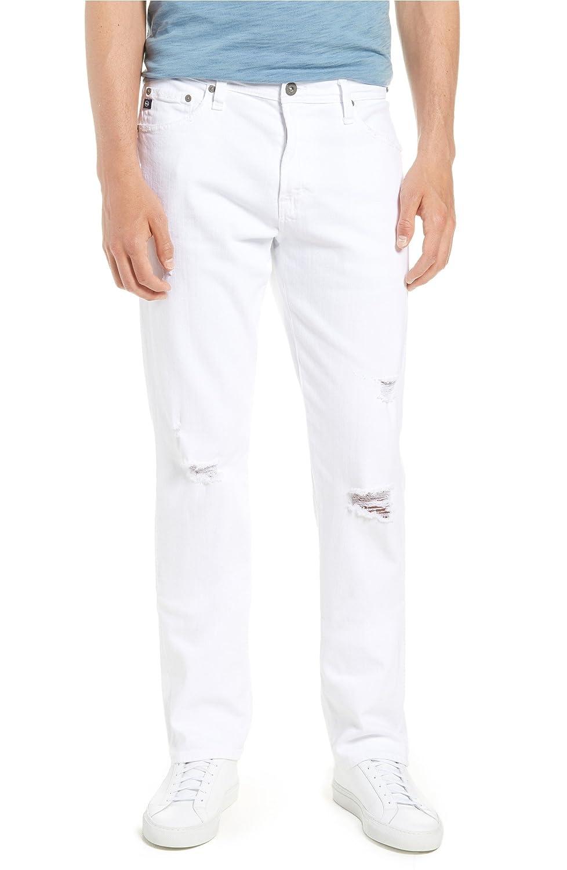 [エージー] メンズ デニムパンツ AG Everett Slim Straight Leg Jeans (Whit [並行輸入品] B07DRBYG13