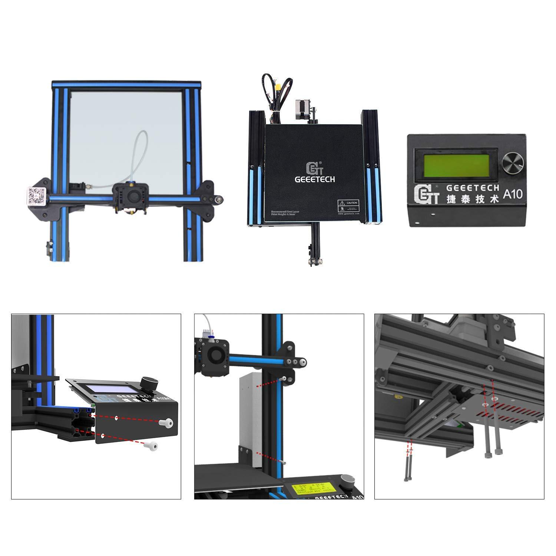 Impresora 3D GEEETECH A10 Prusa I3 Kit de bricolaje de montaje ...