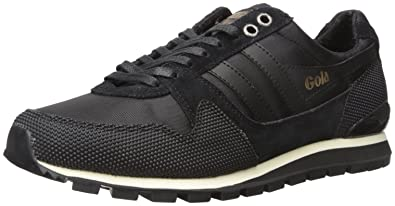 Gola Men's Ridgerunner II Fashion Sneaker, Black/Black, 10 UK/11 M