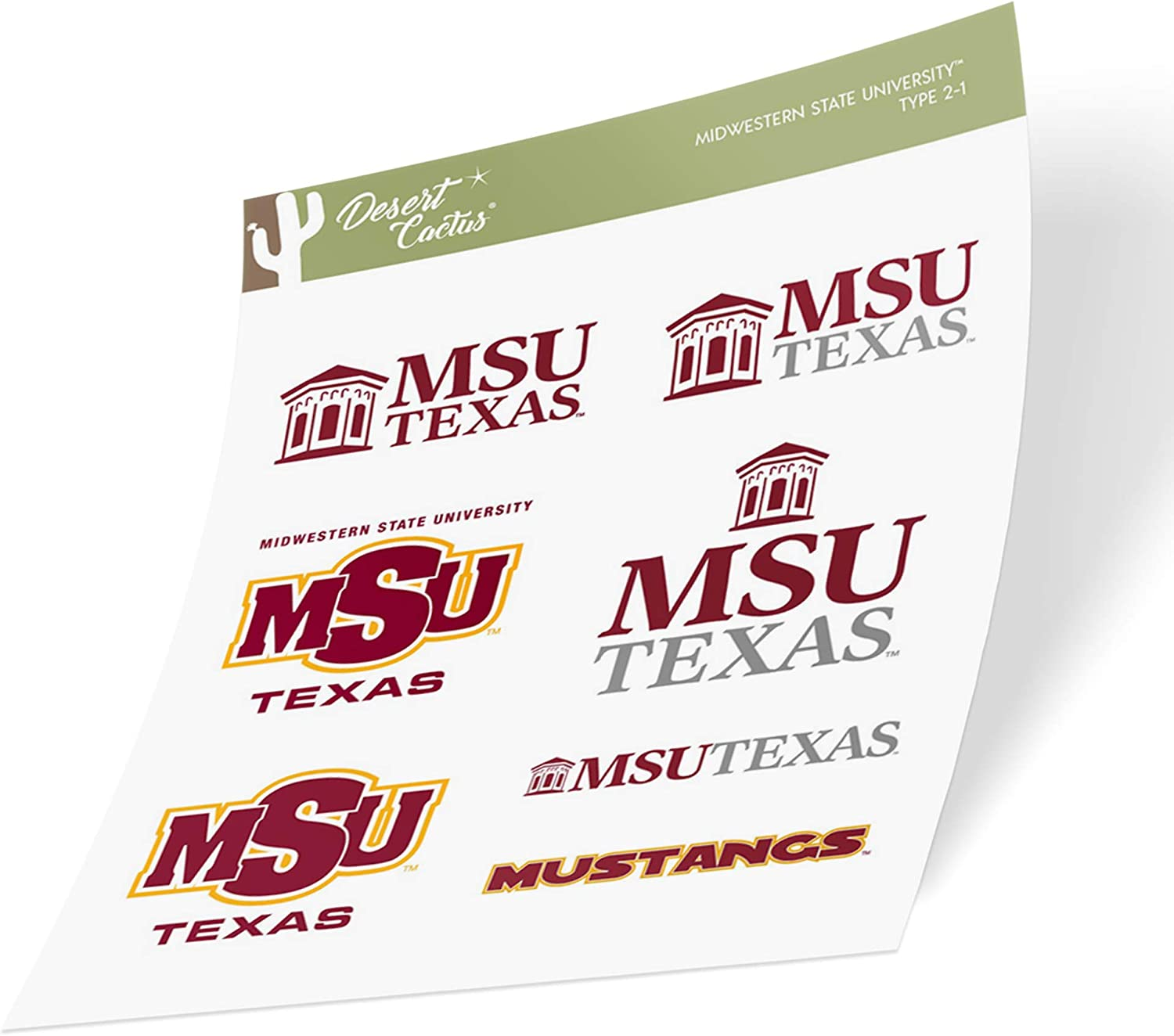 Florida State University NCAA Sticker Vinyl Decal Laptop Water Bottle Car Scrapbook Type 1 Sheet