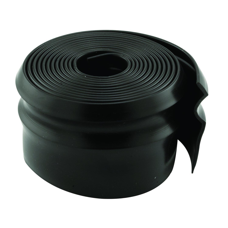 Prime-Line Products GD 12125 Garage Door Weatherstrip, 1-3/8 x 108'', Vinyl Construction, Black, Pack of 1