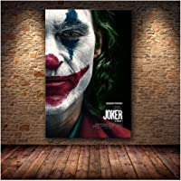 zxianc Impresiones de Carteles Joker Poster Movie 2019 DC Comic Art Canvas Pintura al óleo Cuadros de Pared para Sala de…