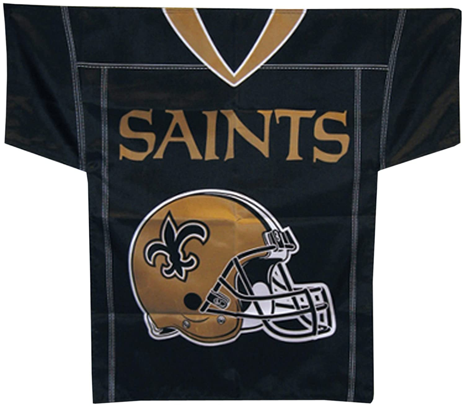 fbaa9bcc7f1 Amazon.com   NFL New Orleans Saints Jersey Banner (34-by-30-Inch 2-Sided)    Outdoor Banners   Sports   Outdoors