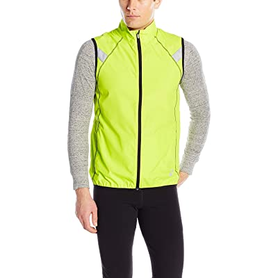 .com : ASICS Men's Shosha Running Vest, Neon Lime/Black, XX-Large : Clothing