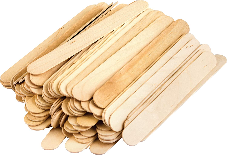 Teacher Created Resources STEM Basics: Jumbo Craft Sticks - 200 Count (TCR20917)