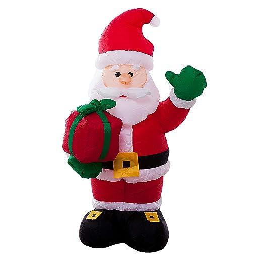 Athoinsu - Decoración para césped o Patio de Navidad, portátil ...