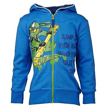 lego wear ninjago t shirt garon bleu blue