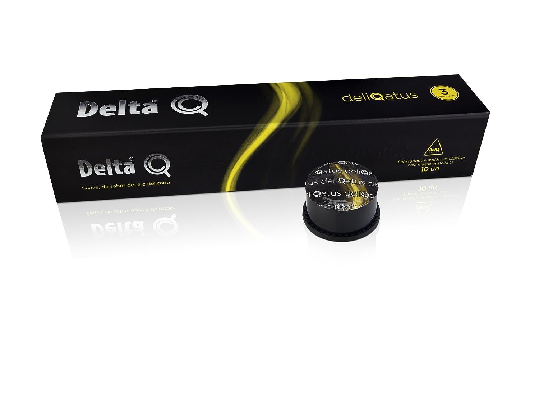 Delta Q - Funda de 10 Cápsulas de café - deliqatus - fuerza 3 ...