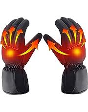 Guantes con calefacción, batería recargable, aislamiento térmico de guantes recargables para esquí deportivo