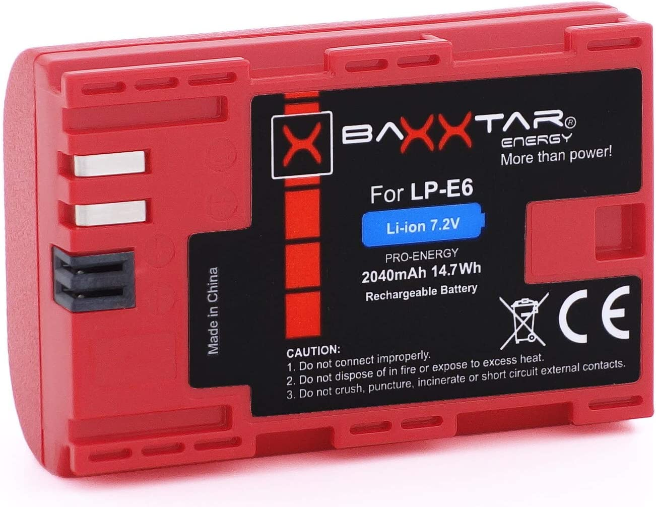 Baxxtar Pro Qualitätsakku Ersatz Für Akku Canon Lp E6 Kamera