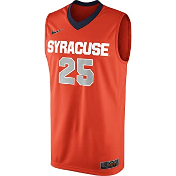 Amazon Com Nike Syracuse Orange 25 Elite Replica Basketball