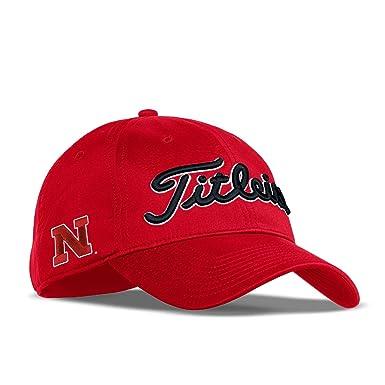 quality design 04b33 9bbcb ... spain titleist 2017 collegiate tour performance adjustable hat cap  nebraska ac7c2 6c084