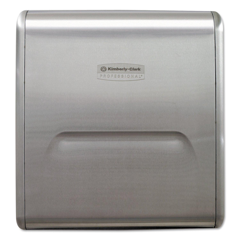 Kimberly-Clark Professional 31498 MOD Recessed Dispenser Narrow Housing, Stainless Steel