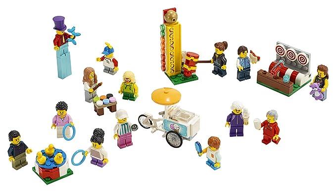 Amazon.com: LEGO City People Pack – Fun Fair 60234 Kit de ...