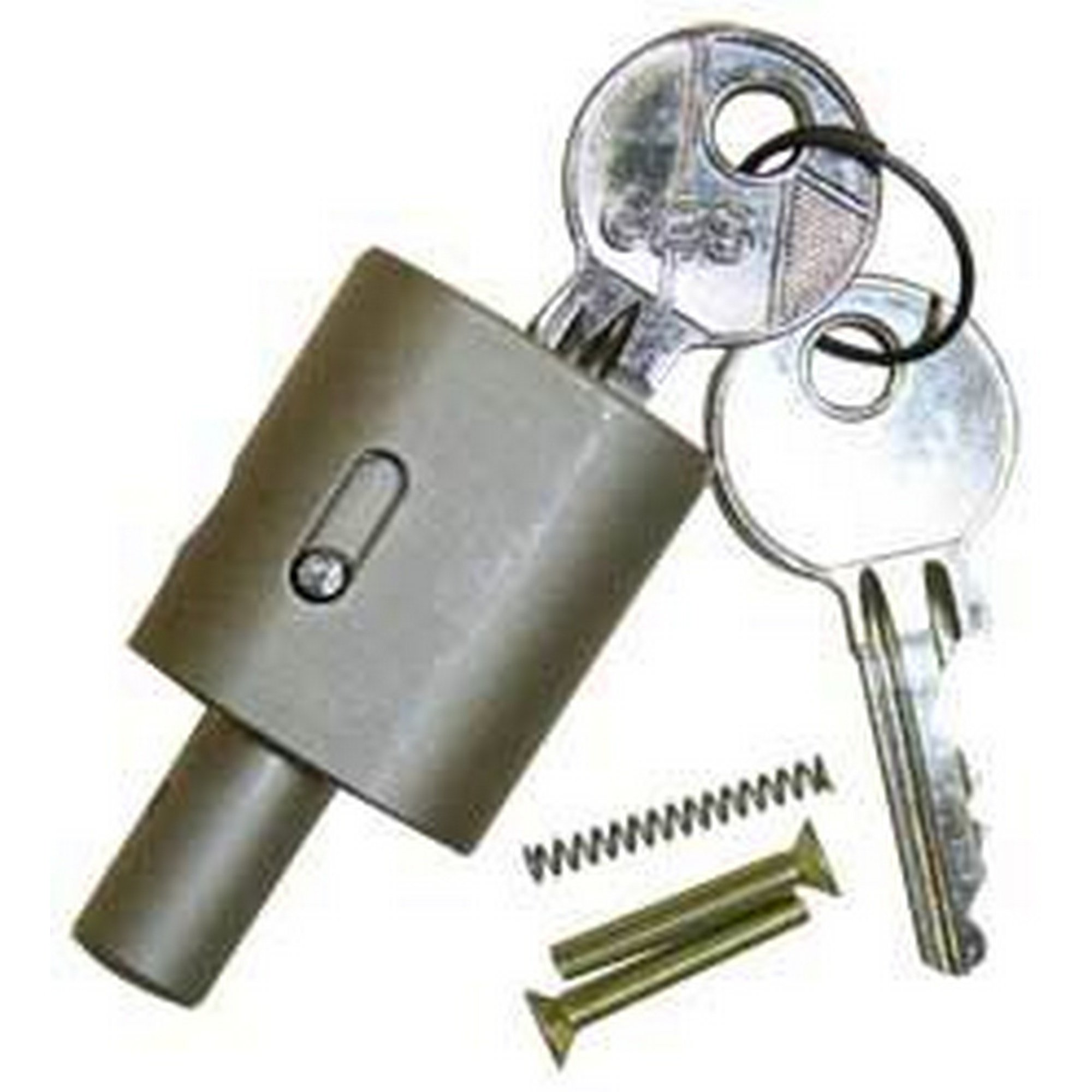 AL-KO Replacement Lock Cylinder (One Size) (Gray) by AL-KO