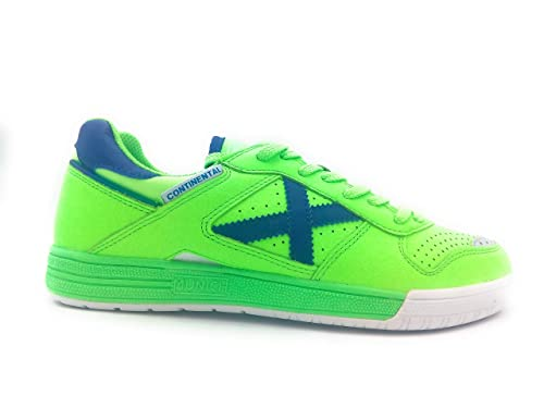 Zapatillas de fútbol Sala MUNICH Continental Verde-Azul (4100891): Amazon.es: Zapatos y complementos