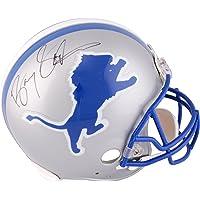 Barry Sanders Detroit Lions Autographed Pro-Line Riddell Authentic Helmet… photo