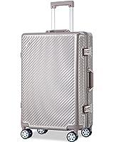 Flieks Aluminium Frame Luggage TSA Approved Suitcase