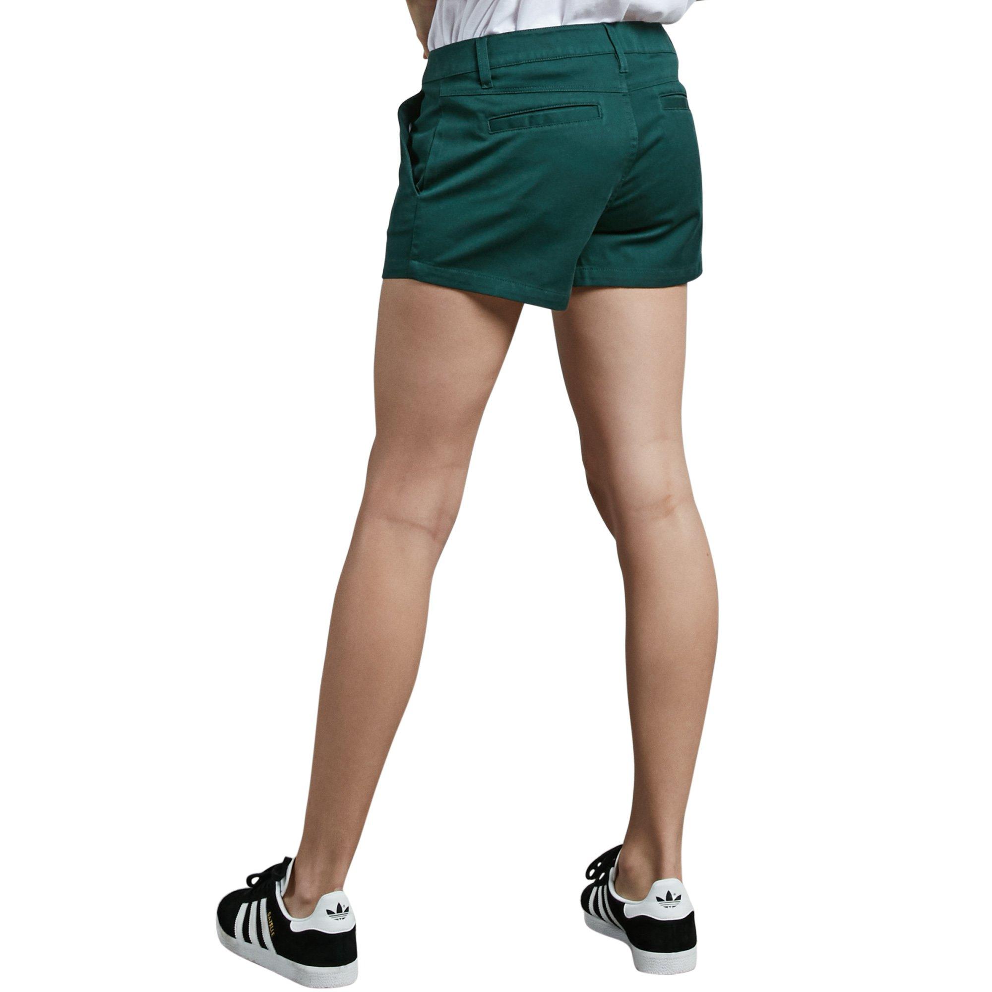 Volcom Junior's Frochickie 3'' Chino Short, Evergreen 26
