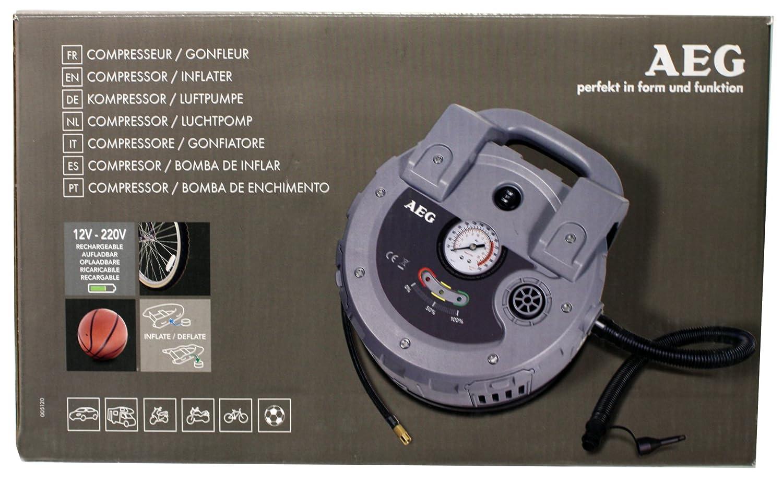 AEG 005120 Compresseur-Gonfleur Rechargeable