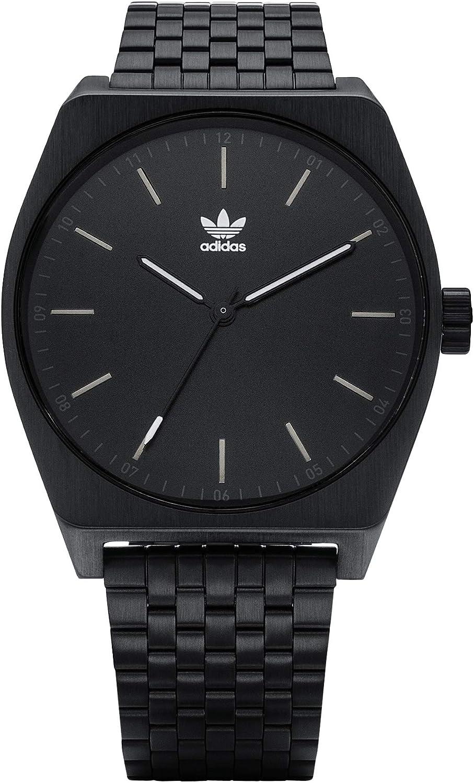 Adidas Reloj Analógico para Hombre de Cuarzo con Correa en Acero Inoxidable Z02-001-00