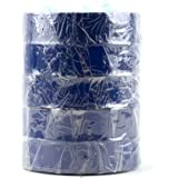 "Electrical Tape -Standard PVC - 3/4"" Wide x 66 feet Long (5 Pack, Blue)"
