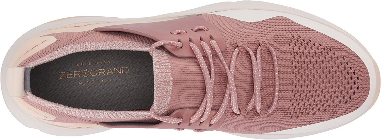 Burlwood Knit//Burlwood Leather//Morganite Cole Haan Womens Zerogrand All-Day Trainer 38 EU Pink 5 UK