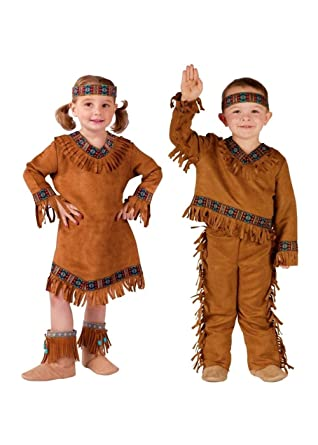 3024a0079f690 Amazon.com: Native American Indian Baby Boy and Baby Girls Costumes:  Clothing