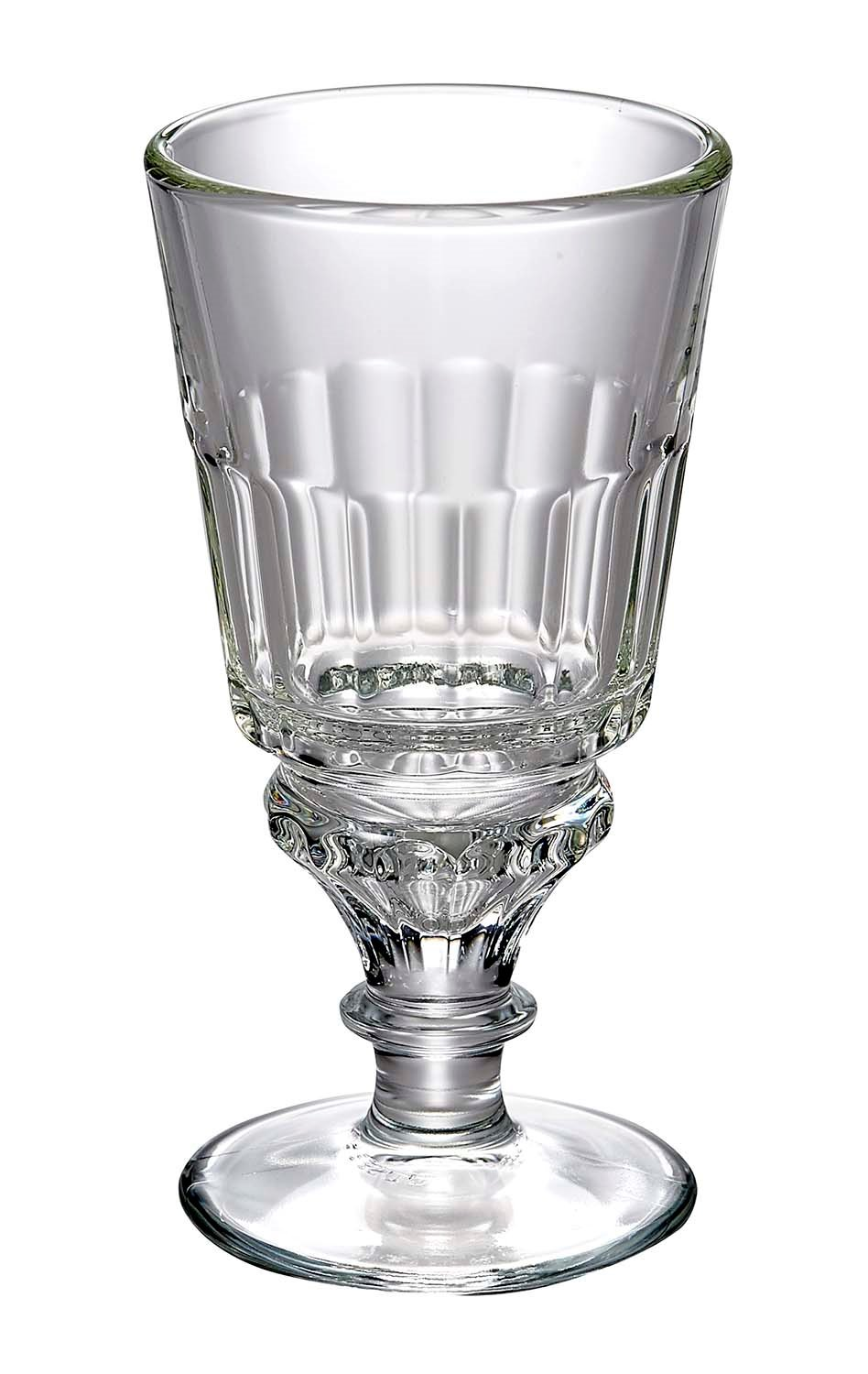 f55b173736d6 La Rochere 16cm Absinthe Stemmed Wine Glass with 25cl Capacity:  Amazon.co.uk: Kitchen & Home
