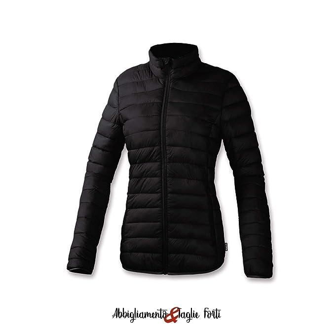 online store 10213 8c234 BRUGI Piumino 100 Grammi Donna Offerta N42C (Nero, XL (50-52 ...