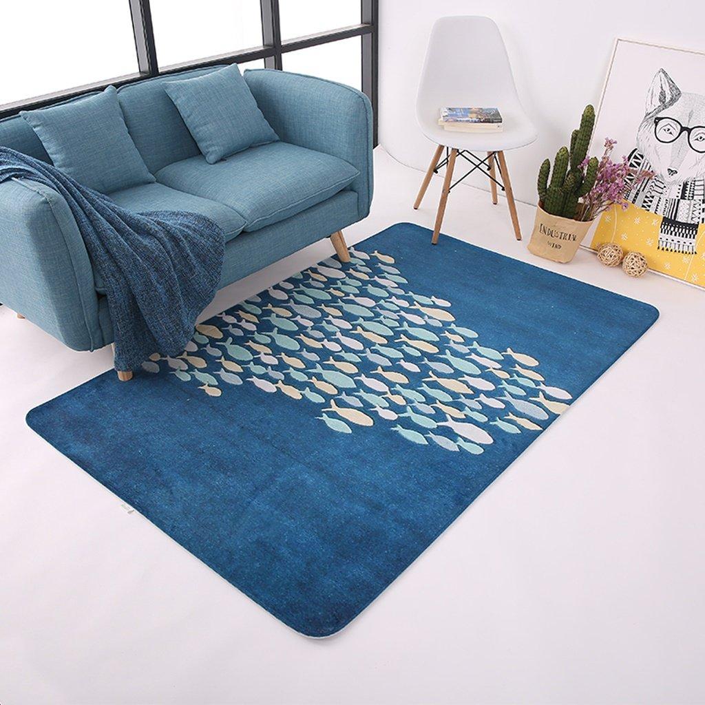 Teppiche europäischen einfachen modernen Wohnzimmer rechteckigen Decke Fisch (größe   180  230cm)