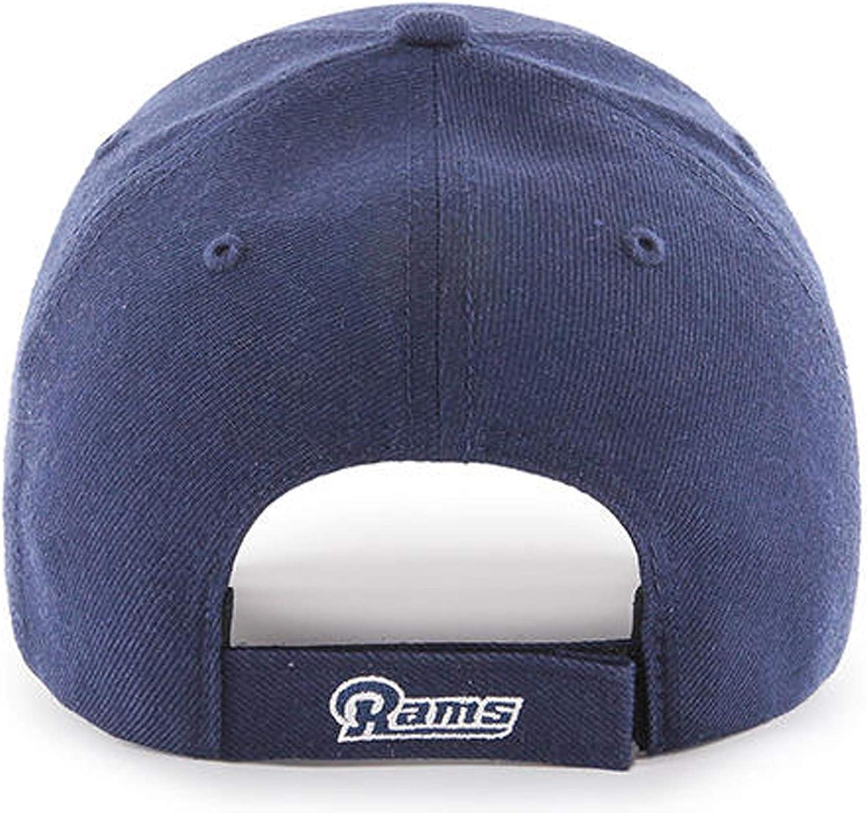 skate shoes online shop details for 47 Men's Los Angeles Rams NFL MVP Adjustable One Size Hat (Navy ...