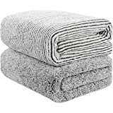 """55"""" x 29"""" Oversized Bath Towels Bamboo, Microfiber Shower Towel for Body, Towel Sets for Bathroom Clearance, Super…"""