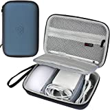 Comecase Hard Case Compatible with Apple Pencil, Magic Mouse, Magsafe Power Adapter, Magnetic Charging Cable