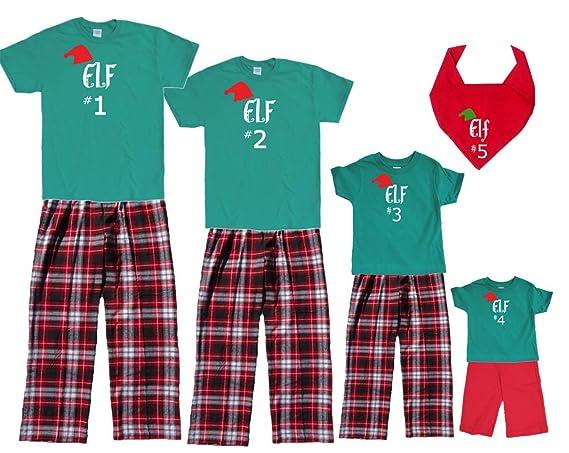 Amazon Matching Christmas Pajamas For Family Of Adults Kids Playwear