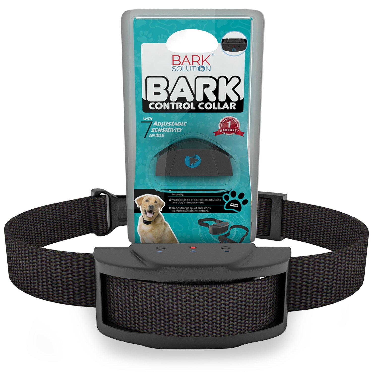 Bark Solution improved Anti Bark Dog Collar Training System