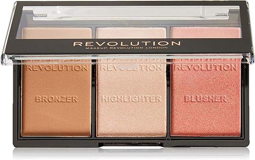 MAKEUP REVOLUTION Ultra Cream Contour Palette 13g : : Beauty
