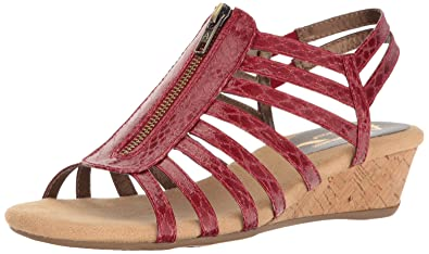 Aerosoles Womens Shoes / Red Ladies Shoes Aerosoles Chlothesline Sandals BS829037818