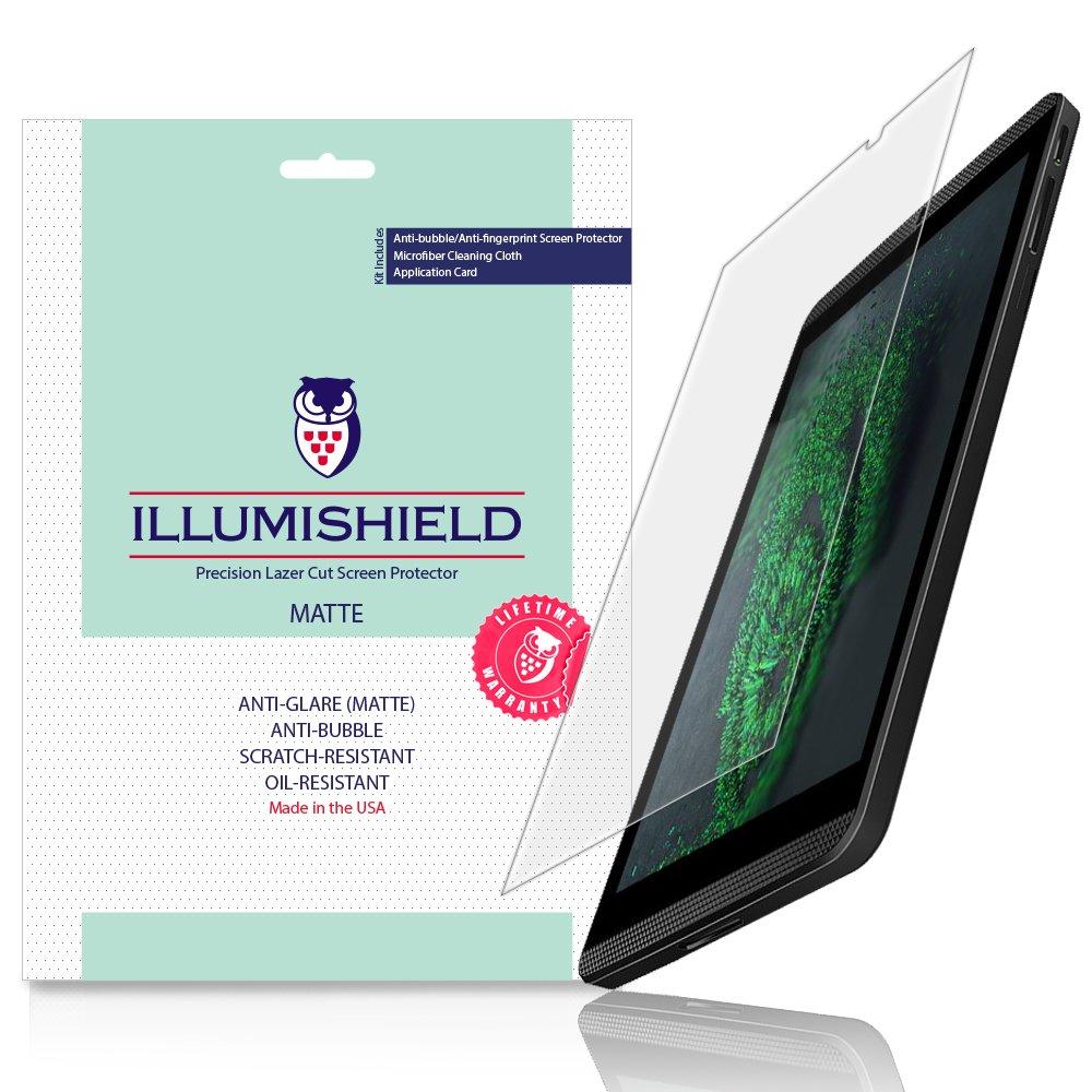 NVIDIA SHIELDタブレットk1スクリーンプロテクター[ 2 - Pack ]、iLLumiShield – アンチグレア(マット) HDクリアフィルム/気泡防止&指紋防止/ Japanese Invisible Shield +   B019G80786