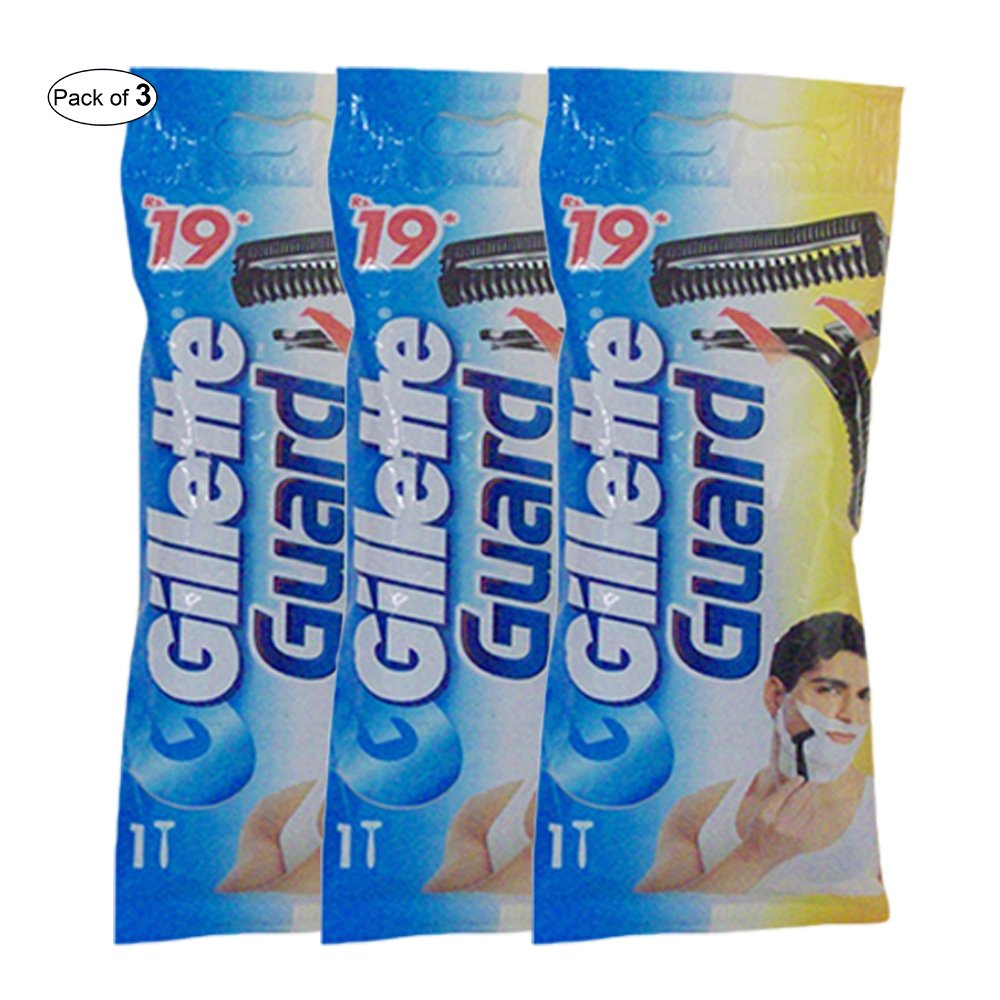 Gillette Guard Shaving Blades (Pack Of 3) Gillette®