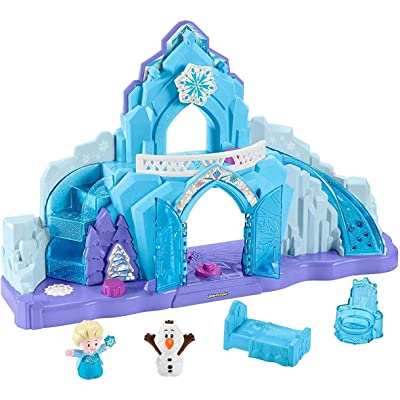 Disney Frozen Elsa's Ice Palace by Little People, Standard Packaging: Toys & Games